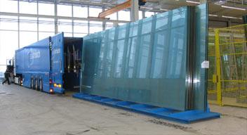 شیشه با ابعاد بزرگ و اورسایز