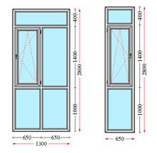 کوچکترین عرض و ارتفاع پنجره